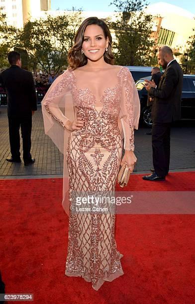 TV personality Karina Banda attends The 17th Annual Latin Grammy Awards at TMobile Arena on November 17 2016 in Las Vegas Nevada