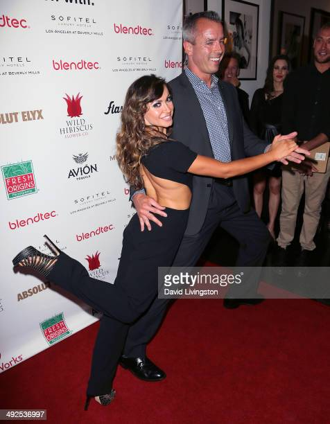 TV personality Karina Smirnoff attends the Dancing with the Stars Season 18 official wrap party at the Sofitel Hotel on May 20 2014 in Los Angeles...