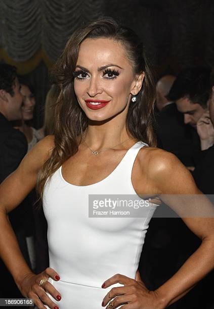 TV personality Karina Smirnoff attends the TV Guide Magazine's Hot List Party at Emerson Theatre on November 4 2013 in Hollywood California