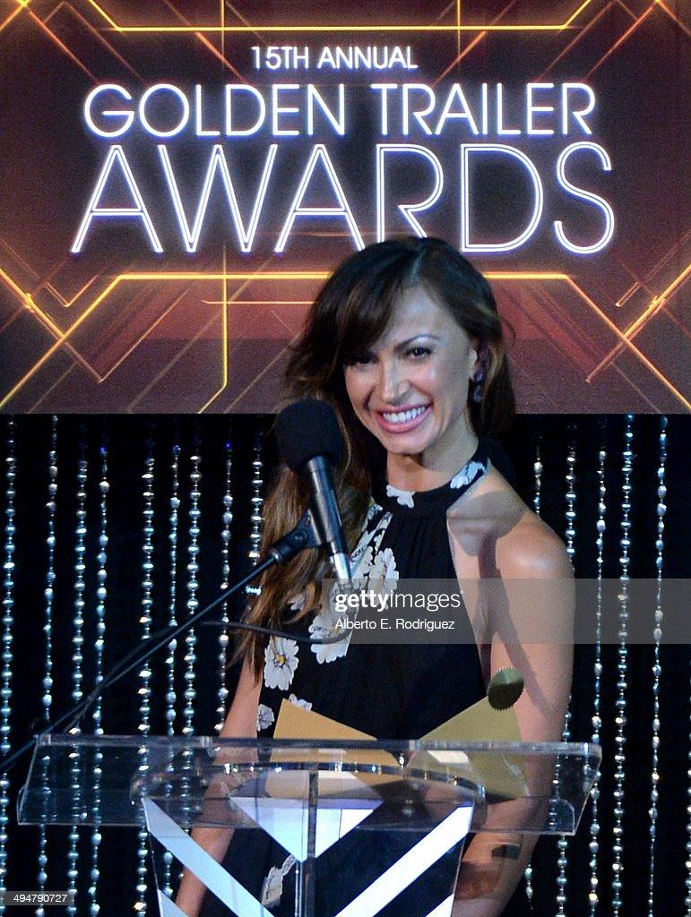 15th Annual Golden Trailer Awards - Awards Show : News Photo