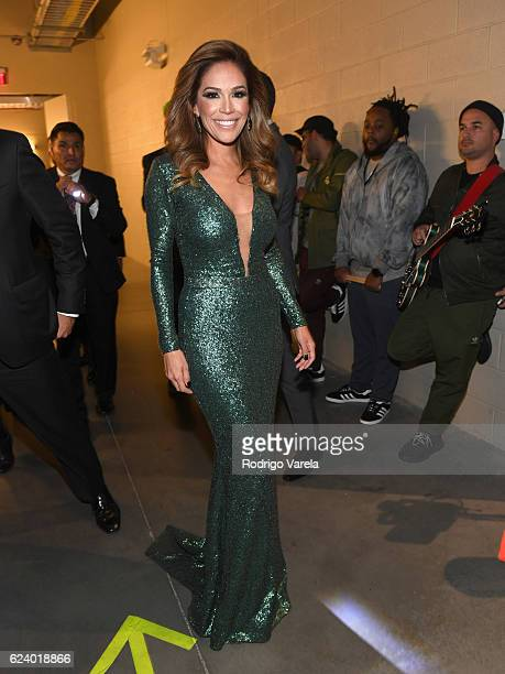 TV personality Karla Martinez attends The 17th Annual Latin Grammy Awards at TMobile Arena on November 17 2016 in Las Vegas Nevada