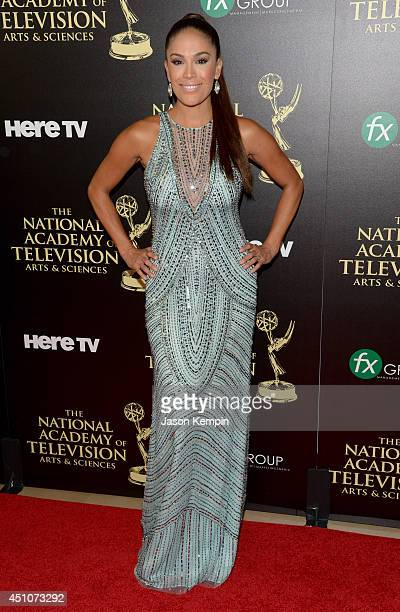 TV personality Karla Martínez attends The 41st Annual Daytime Emmy Awards at The Beverly Hilton Hotel on June 22 2014 in Beverly Hills California