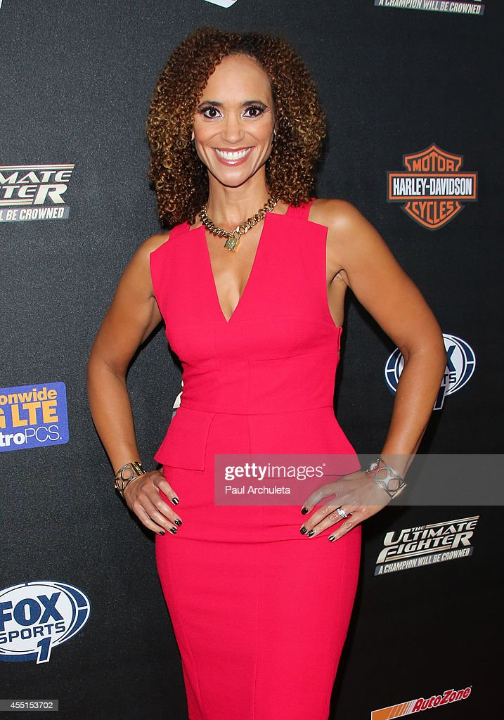 TV Personality Karyn Bryant attends FOX Sports 1's 'The Ultimate Fighter' season premiere party at Lure on September 9, 2014 in Hollywood, California.