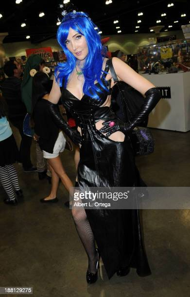 Personality Kasey Poteet attends Stan Lee's Comikaze Expo Presented By POW Entertainment Day 1 held at Los Angeles Convention Center on November 1...