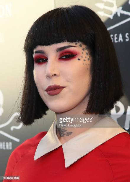 TV personality Kat Von D attends Shepherd Conservation Society's 40th Anniversary Gala For The Oceans at Montage Beverly Hills on June 10 2017 in...