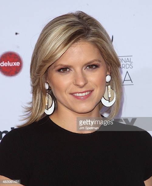 Personality Kate Bolduan attends the 41st International Emmy Awards at the Hilton New York on November 25 2013 in New York City