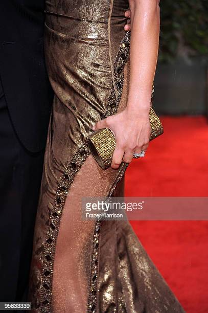 TV personality Kate del Castillo arrives at the 67th Annual Golden Globe Awards held at The Beverly Hilton Hotel on January 17 2010 in Beverly Hills...