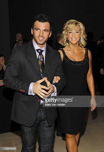 TV personality Kate Gosselin and Tony Dovolani attend the premiere of Life at Alice Tully Hall Lincoln Center on March 4 2010 in New York City