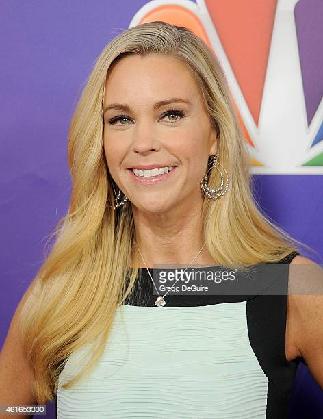 TV personality Kate Gosselin arrives at day 2 of the NBCUniversal 2015 Press Tour at The Langham Huntington Hotel and Spa on January 16 2015 in...