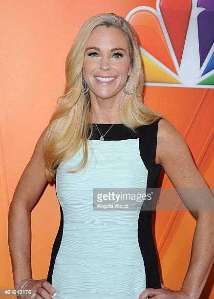 TV personality Kate Gosselin arrives at NBCUniversal's 2015 Winter TCA Tour Day 2 at The Langham Huntington Hotel and Spa on January 16 2015 in...