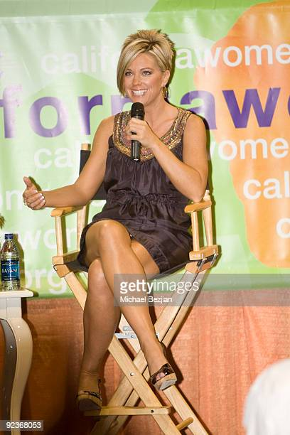 TV personality Kate Gosselin attends The 2009 Women's Conference Day 1 at the Long Beach Convention Center on October 26 2009 in Long Beach California