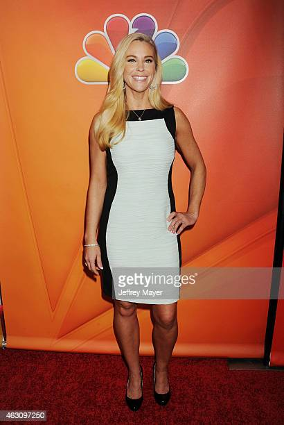 TV personality Kate Gosselin attends the NBCUniversal 2015 Press Tour at the Langham Huntington Hotel on January 16 2015 in Pasadena California