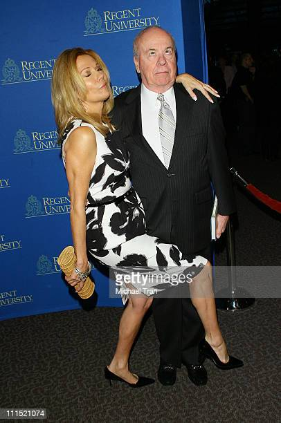 Personality Kathie Lee Gifford and honoree actor Tim Conway arrive at the 2nd Annual Candlelight Forum honoring Tim Conway held at the DGA Theater on...