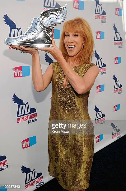 Personality Kathy Griffin arrives at the 2010 VH1 Do Something! Awards held at the Hollywood Palladium on July 19, 2010 in Hollywood, California.