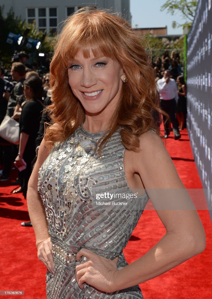 TV personality Kathy Griffin attends CW Network's 2013 2013 Young Hollywood Awards presented by Crest 3D White and SodaStream held at The Broad Stage on August 1, 2013 in Santa Monica, California.