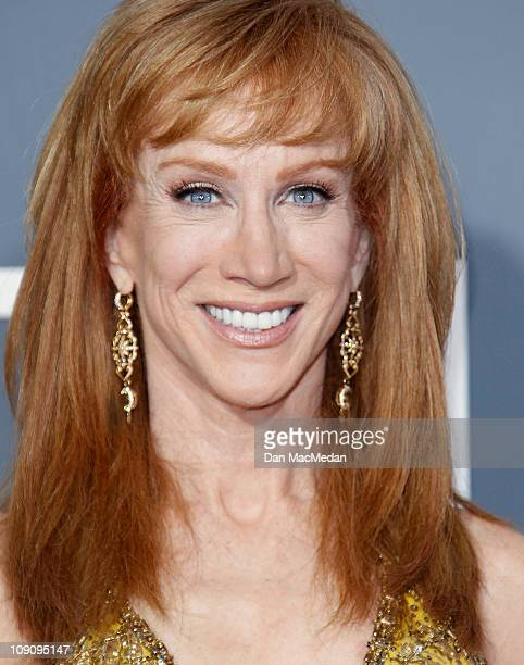 TV personality Kathy Griffin attends The 53rd Annual GRAMMY Awards at Staples Center on February 13 2011 in Los Angeles California