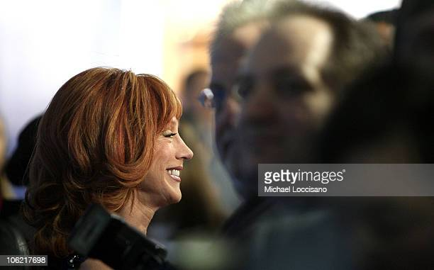 TV personality Kathy Griffin attends the NBC Universal Experience at Rockefeller Center on May 12 2008 in New York City