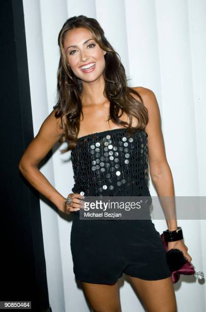 TV personality Katie Cleary attends SBE's Mi6 Nightclub Opening on September 15 2009 in West Hollywood United States