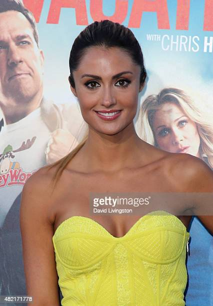 TV personality Katie Cleary attends the premiere of Warner Bros 'Vacation' at the Regency Village Theatre on July 27 2015 in Westwood California