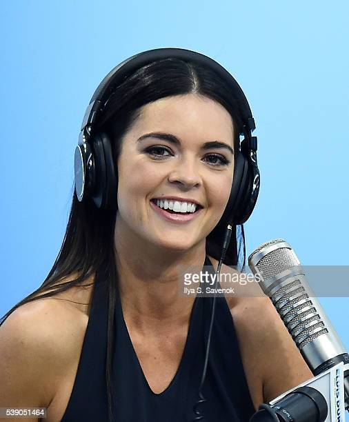TV personality Katie Lee visits The Elvis Duran Z100 Morning Show at Z100 Studio on June 9 2016 in New York City