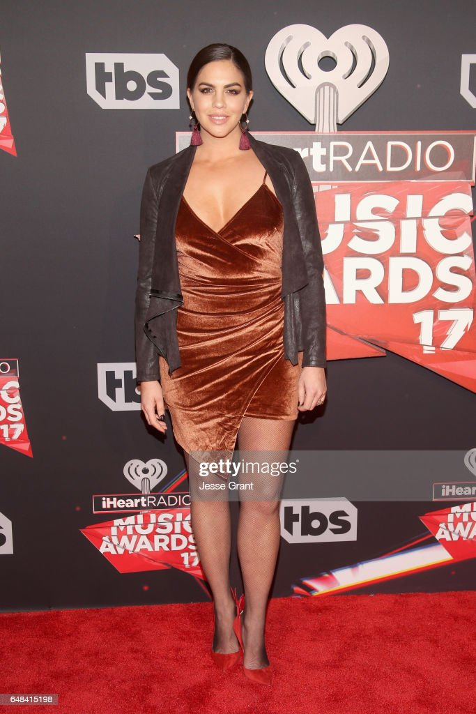 TV personality Katie Maloney attends the 2017 iHeartRadio Music Awards which broadcast live on Turner's TBS, TNT, and truTV at The Forum on March 5, 2017 in Inglewood, California.