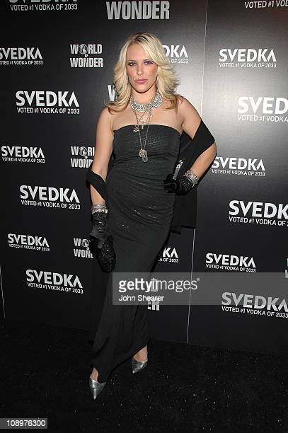 TV personality Kayley Gable attends SVEDKA Vodka Presents Hollywood DC Lights Camera Election at the World of Wonder Storefront Gallery on October 23...