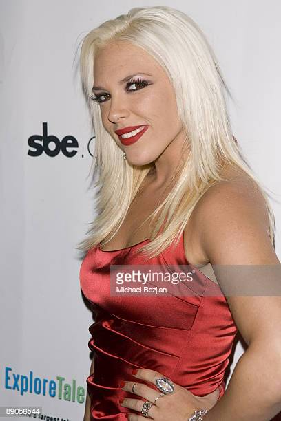 TV personality Kayley Gable attends the Pop Diva Gemini Birthday Bash at Area Nightclub on June 3 2009 in Hollywood California