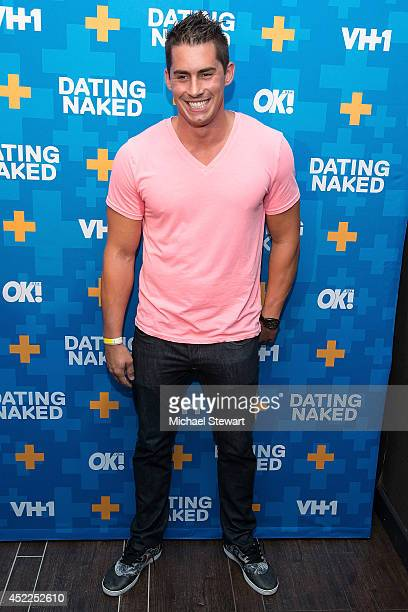 TV personality Keegan Moyer attends the 'Dating Naked' series premiere at Gansevoort Park Avenue on July 16 2014 in New York City