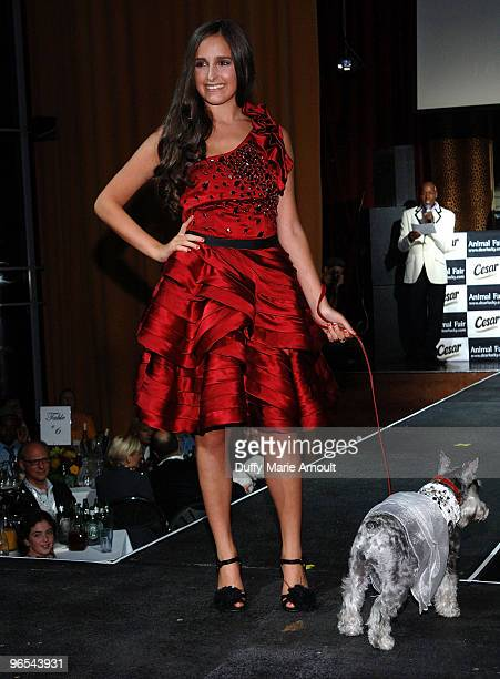 Personality Kelli Tomashoff attends Animal Fair's 10th Annual Paws For Style at M2 Ultra Lounge on July 27 2009 in New York City