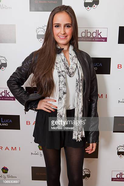COVERAGE*** TV personality Kelli Tomashoff attends the launch of P Luca at Barami on November 16 2010 in New York City