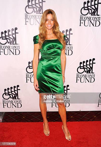 Personality Kelly Bensimon attends the 26th Annual Great Sports Legends Dinner to benefit the Buoniconti Fund To Cure Paralysis at The...