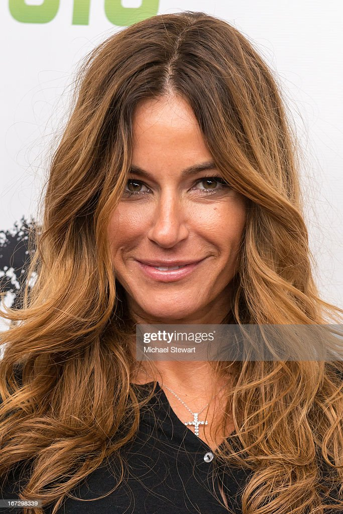 TV personality Kelly Bensimon attends the 'All My Children' & 'One Life To Live' premiere at Jack H. Skirball Center for the Performing Arts on April 23, 2013 in New York City.