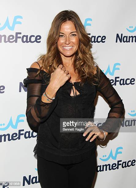 TV personality Kelly Bensimon attends the NameFacecom launch party at No 8 on January 27 2016 in New York City