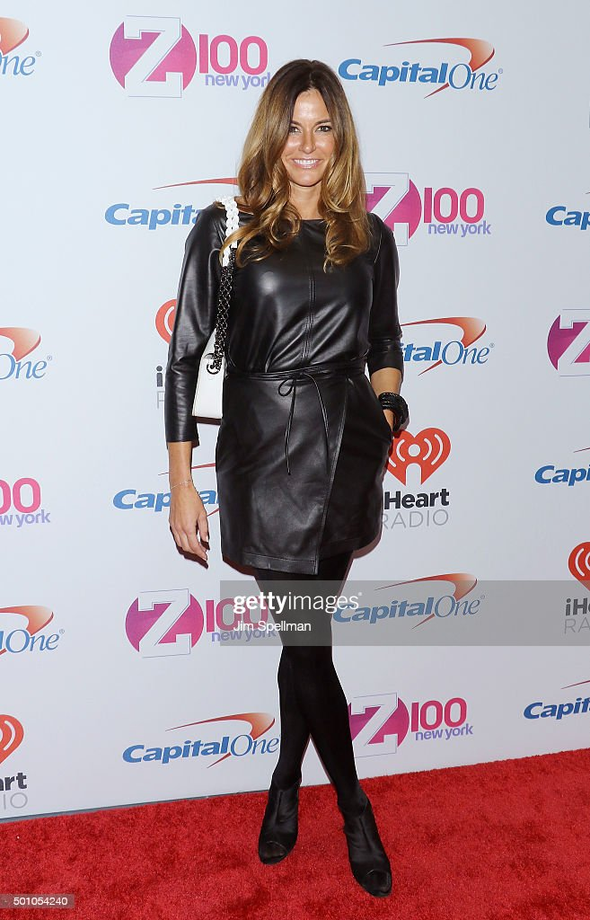 TV personality Kelly Bensimons attends the Z100's iHeartRadio Jingle Ball 2015 at Madison Square Garden on December 11, 2015 in New York City.