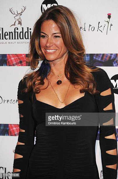 TV personality Kelly Killoren Bensimon attends the 8th annual Dressed To Kilt Charity Fashion Show at M2 Ultra Lounge on April 5 2010 in New York City