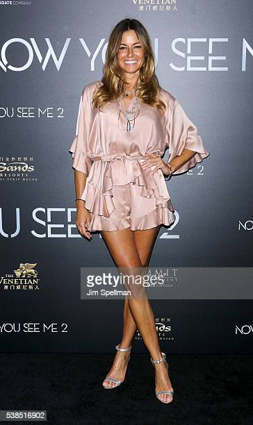 TV personality Kelly Killoren Bensimon attends the Now You See Me 2 world premiere at AMC Loews Lincoln Square 13 theater on June 6 2016 in New York...