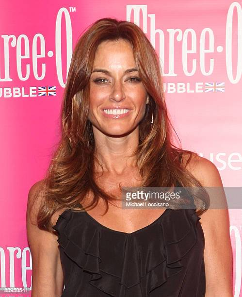 TV personality Kelly Killoren Bensimon attends the ThreeO Vodka Bubble launch at Greenhouse on July 9 2009 in New York City