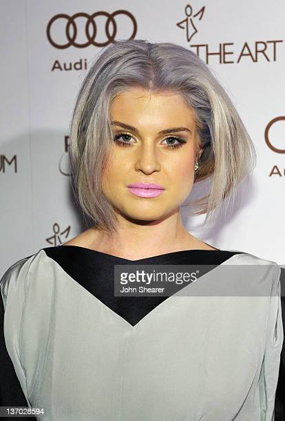 Personality Kelly Osbourne arrives at Audi presents The Art of Elysium's 5th annual HEAVEN at Union Station on January 14 2012 in Los Angeles...