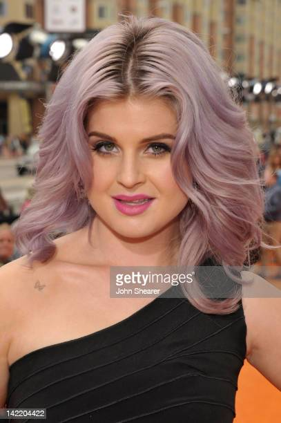 TV personality Kelly Osbourne arrives at Nickelodeon's 25th Annual Kids' Choice Awards held at Galen Center on March 31 2012 in Los Angeles California