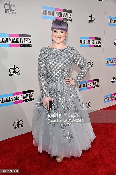 Personality Kelly Osbourne attends 2013 American Music Awards at Nokia Theatre L.A. Live on November 24, 2013 in Los Angeles, California.