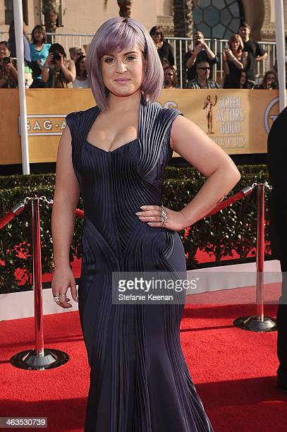 TV personality Kelly Osbourne attends 20th Annual Screen Actors Guild Awards at The Shrine Auditorium on January 18 2014 in Los Angeles California
