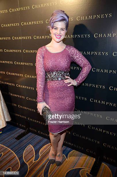 TV personality Kelly Osbourne attends BritWeek An Evening With Piers Morgan In Conversation With Jackie Collins benefiting Children's Hospital Los...