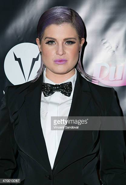 """Personality Kelly Osbourne attends Logo's """"RuPaul's Drag Race"""" season 6 premiere party at Hollywood Roosevelt Hotel on February 17, 2014 in..."""