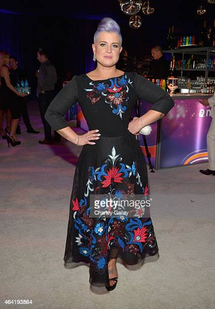 Personality Kelly Osbourne attends Neuro at the 23rd Annual Elton John AIDS Foundation Academy Awards Viewing Party on February 22 2015 in Los...