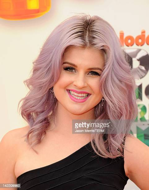 TV personality Kelly Osbourne attends Nickelodeon's 25th Annual Kids' Choice Awards held at Galen Center on March 31 2012 in Los Angeles California