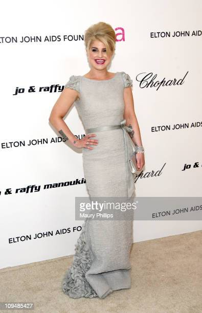 Personality Kelly Osbourne attends the 19th Annual Elton John AIDS Foundation's Oscar viewing party held at the Pacific Design Center on February 27,...
