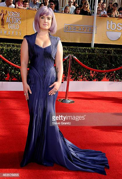 Personality Kelly Osbourne attends the 20th Annual Screen Actors Guild Awards at The Shrine Auditorium on January 18, 2014 in Los Angeles, California.