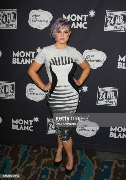Personality Kelly Osbourne attends the 4th annual production of the 24 Hour Plays In Los Angeles to benefit Urban Arts Partnership at The Shore Hotel...