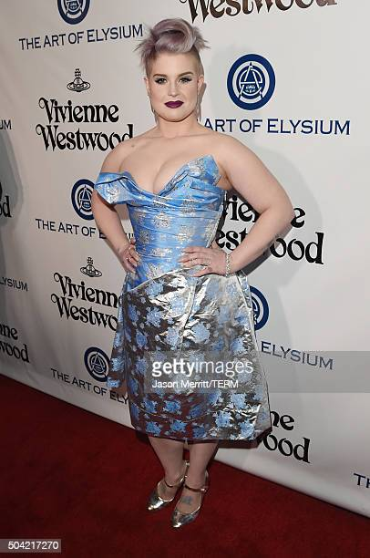 TV personality Kelly Osbourne attends The Art of Elysium 2016 HEAVEN Gala presented by Vivienne Westwood Andreas Kronthaler at 3LABS on January 9...