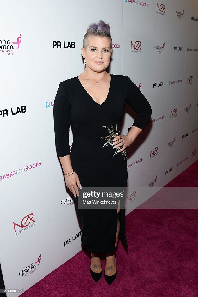TV personality Kelly Osbourne attends the Babes for Boobs Bachelor Auction benefitting the Los Angeles County Affiliate of Susan G. Komen on June 16, 2016 in Los Angeles, California.